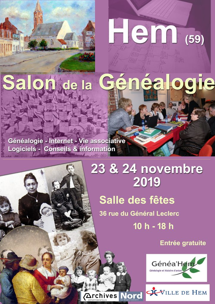 Salon de la Généalogie à Hem