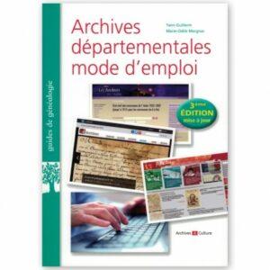 Archives départementales - 3ème édition