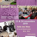 Salon de la Généalogie à Hem (59-Nord) les samedi 23 & 24 novembre 2019