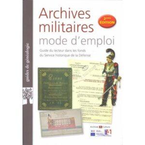 Archives militaires - 2ème édition